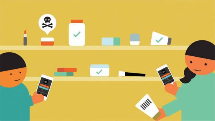 Sağlığa zararlı kozmetik ürünlerini belirleyen uygulama