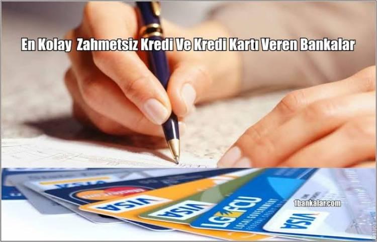 Gelir Belgesiz Kolay Kredi Kartı Veren Bankalar