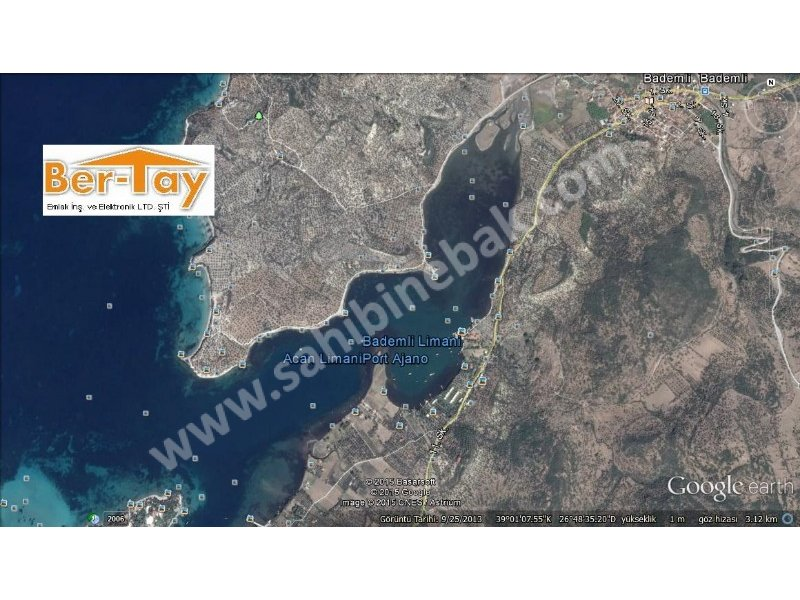 Dikili Bademli Pissa Koyunda 190.000 m2 Satılık Konut+Ticari Arsa - Sahibinebak.com